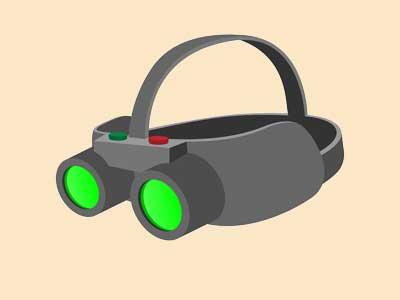 دوربین امنیتی با قابلیت دیدن در شب